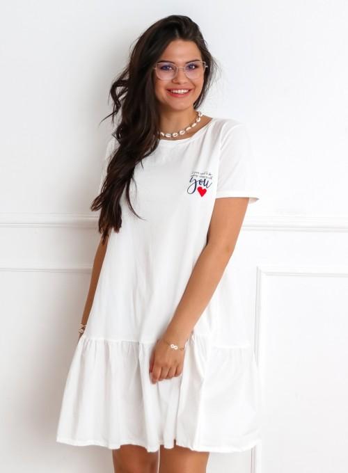 Sukienka YOU biała