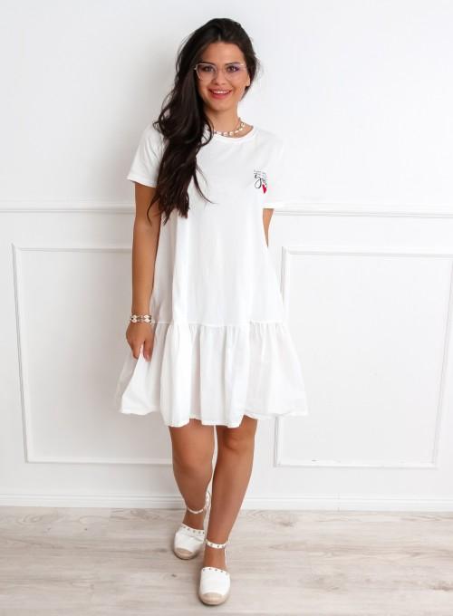 Sukienka YOU biała 1