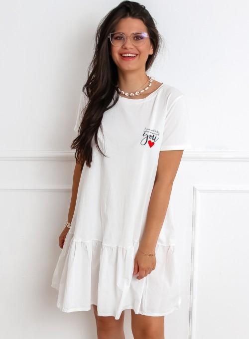 Sukienka YOU biała 3