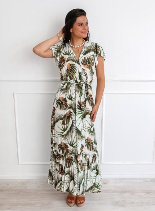 Sukienka Nina w palmy