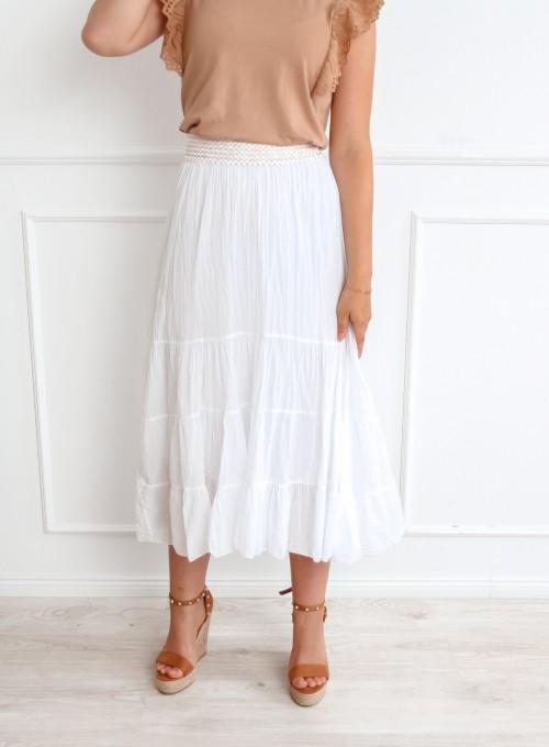 Spódnica Fimi biała