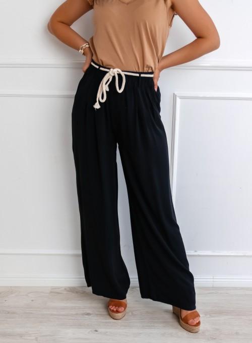 Spodnie Bones czarne