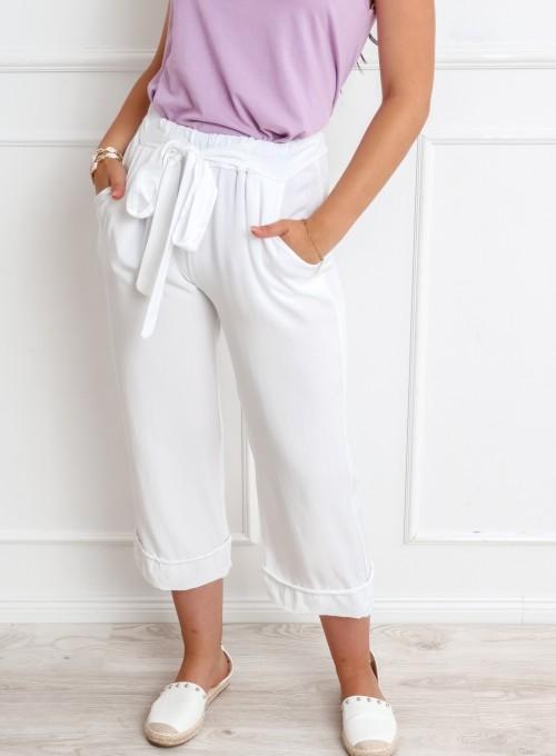 Spodnie Bridget białe