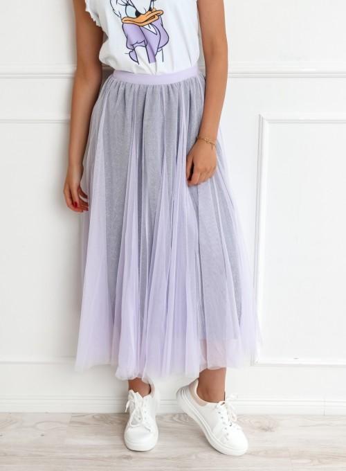 Spódnica Loure liliowa