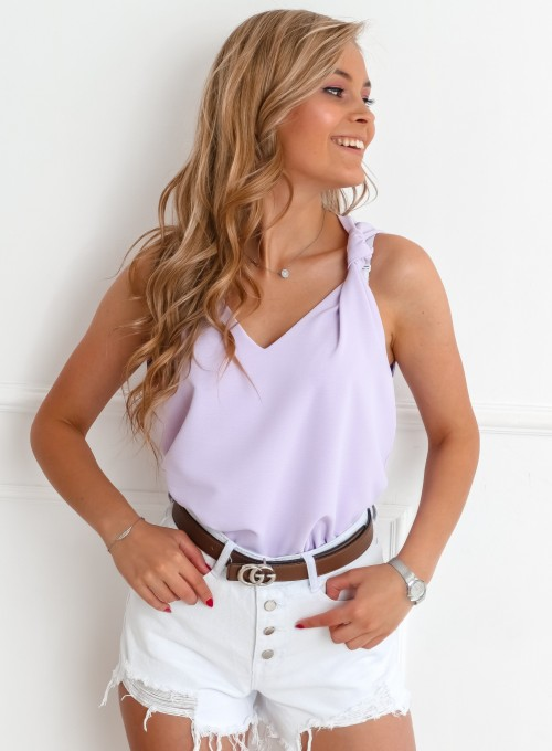 Bluzka Venika liliowa