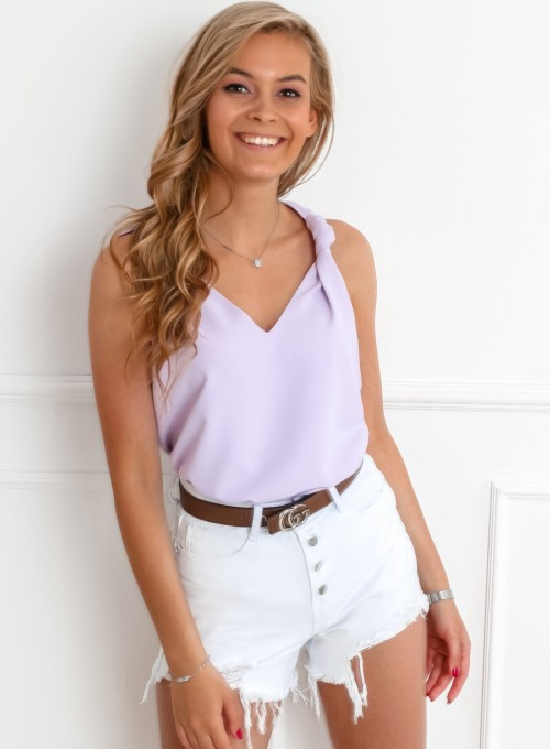 Bluzka Venika liliowa 2