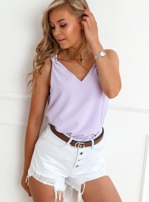 Bluzka Venika liliowa 4