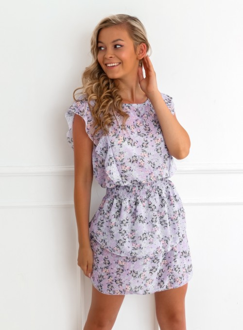 Sukienka Bari liliowa
