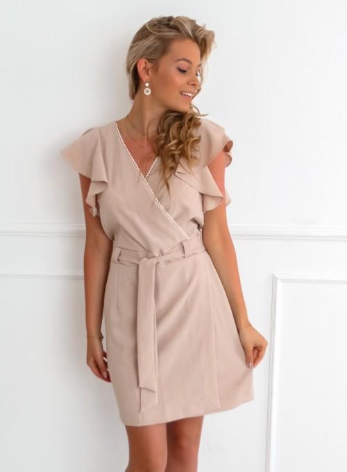 Sukienka Dana Beżowa