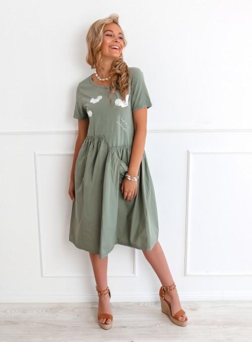 Sukienka Donna khaki 1