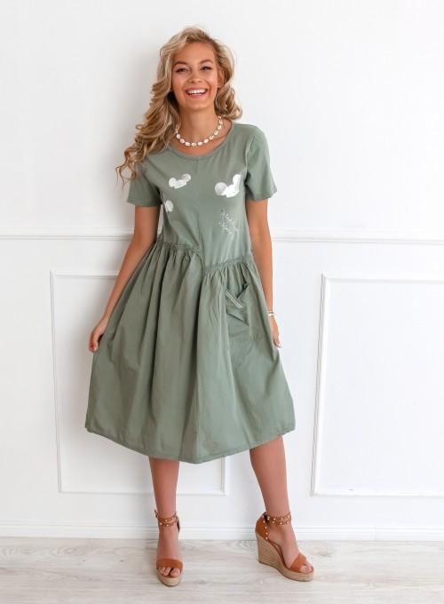 Sukienka Donna khaki 2