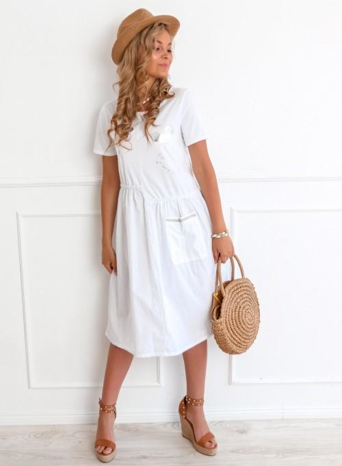 Sukienka Donna biała