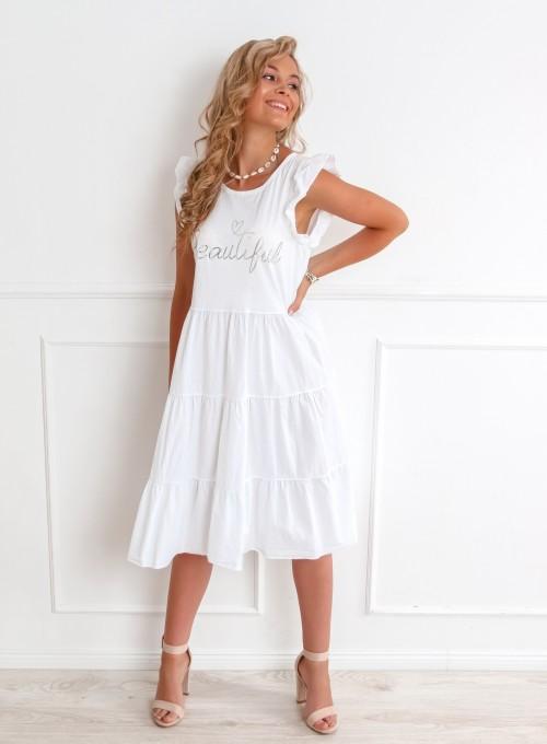 Sukienka Beautiful biała