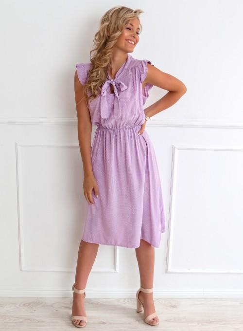 Sukienka Luisa liliowa