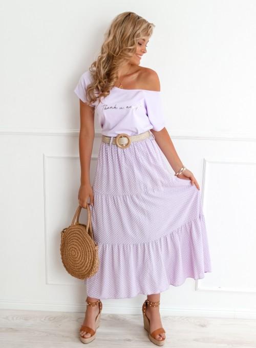 Spódnica Mia liliowa 1