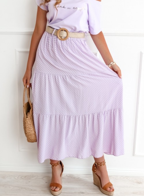 Spódnica Mia liliowa 5