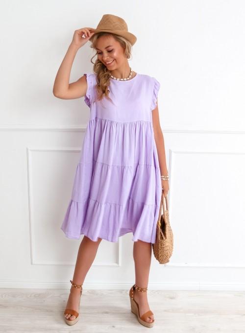 Sukienka Marqo liliowa