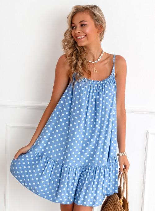 Sukienka Albero blue jeans