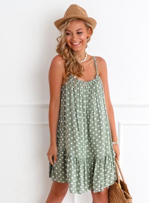 Sukienka Albero khaki