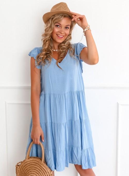 Sukienka Pati blue jeans