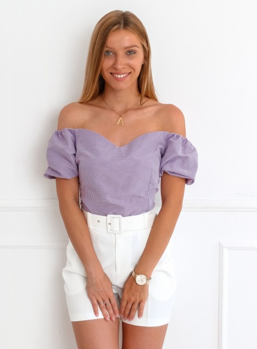 Bluzka Celia fioletowa