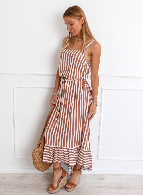 Sukienka Zolly beżowa