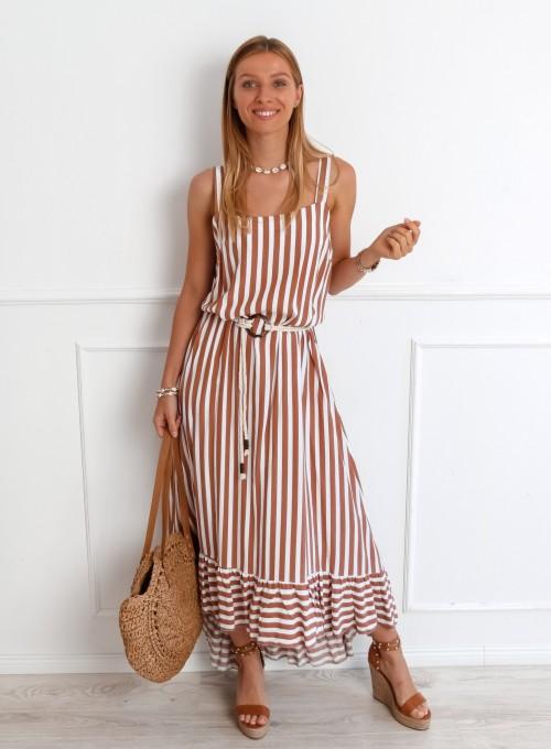 Sukienka Zolly beżowa 2