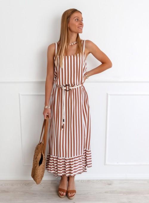 Sukienka Zolly beżowa 3