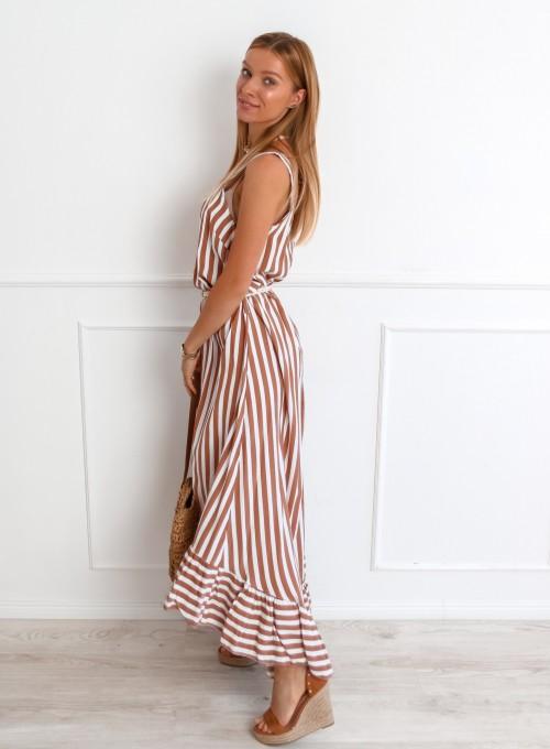 Sukienka Zolly beżowa 5