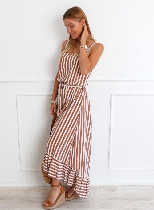 Sukienka Zolly beżowa 1