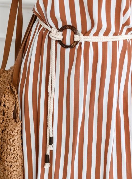 Sukienka Zolly beżowa 6