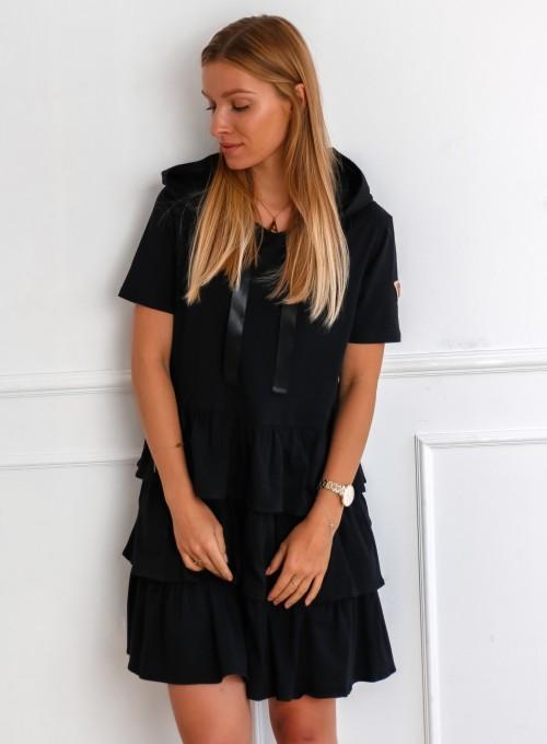 Sukienka Massimo czarna 1