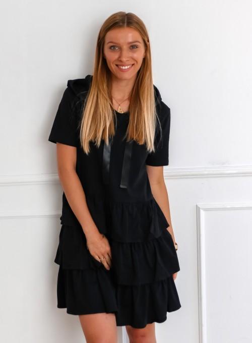 Sukienka Massimo czarna 2