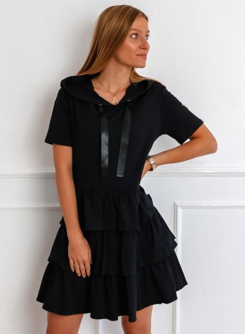 Sukienka Massimo czarna 3