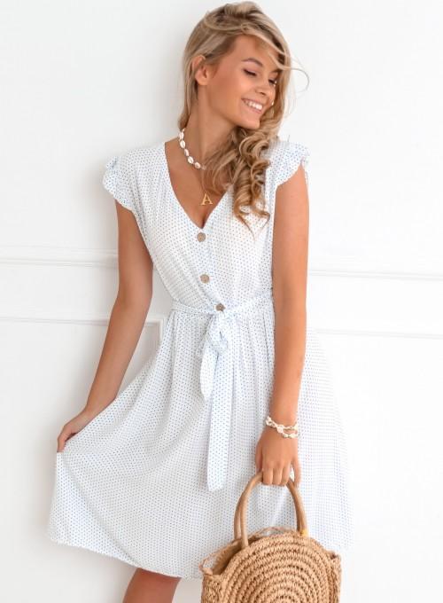 Sukienka Focus white 4