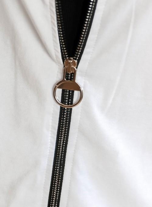 Bluza rozpinana Jasper biała 4