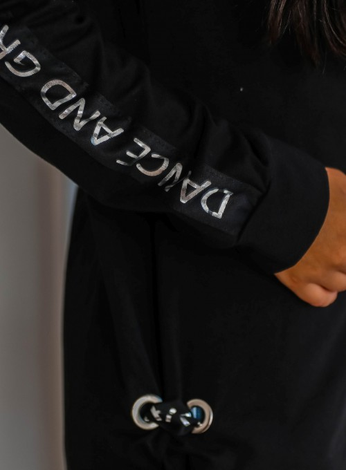 Bluza rozpinana Jasper czarna 5