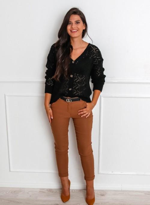 Spodnie Zinni karmelowe 3