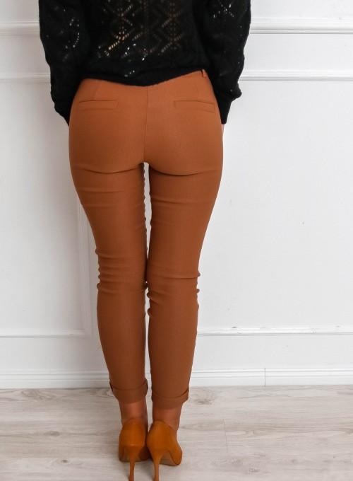 Spodnie Zinni karmelowe 7