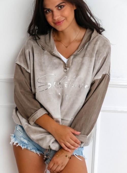 Bluza Liren beżowa 4