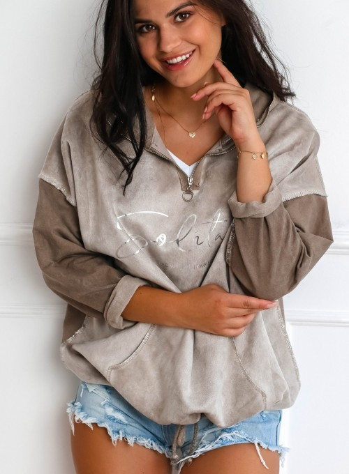 Bluza Liren beżowa 5