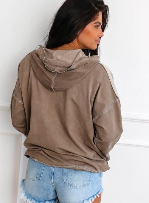 Bluza Liren beżowa 7