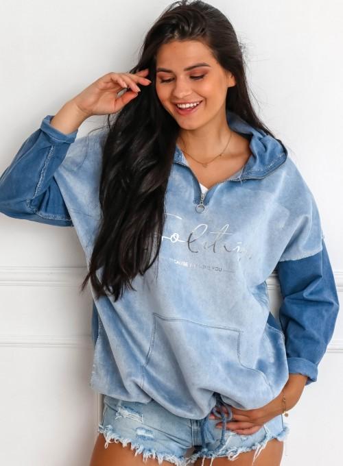 Bluza Liren blue jeans 1