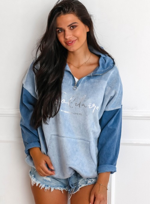 Bluza Liren blue jeans 3