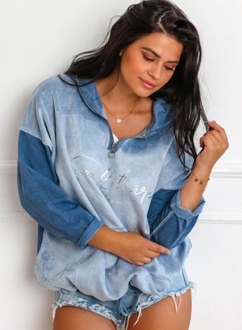 Bluza Liren blue jeans 2