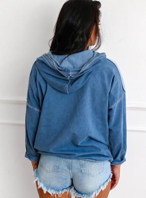 Bluza Liren blue jeans 6