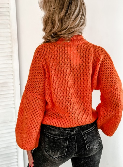 Sweter Nelly orange 6