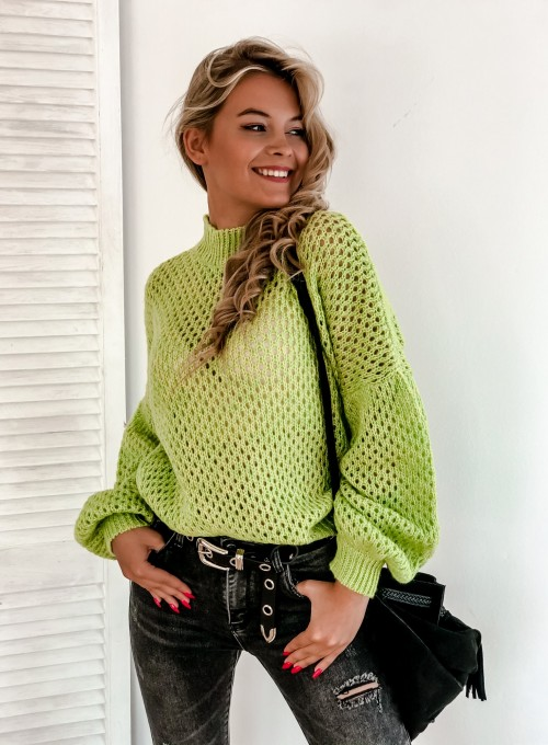 Sweter Nelly neon 3