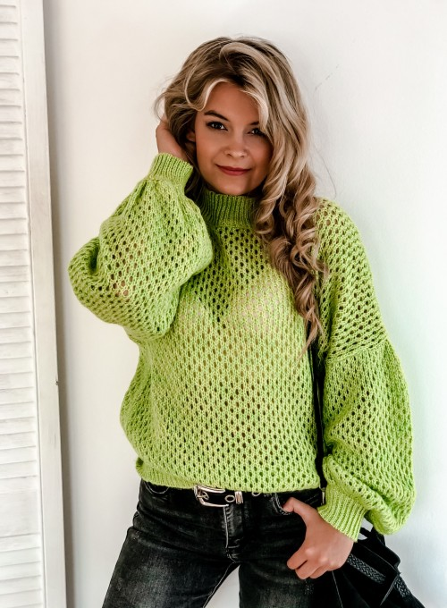 Sweter Nelly neon 1