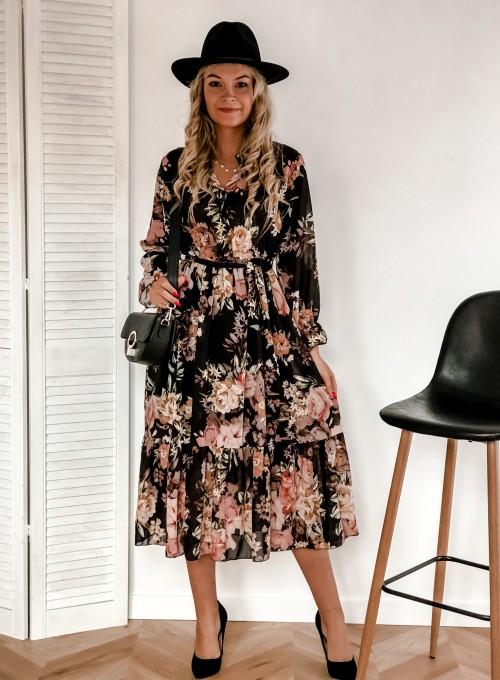 Sukienka Mandi czarna 2